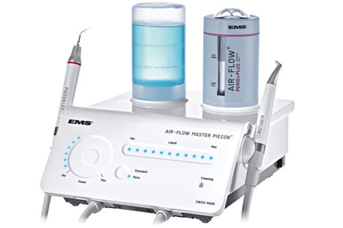 Dental air scaler / complete set / with air polisher